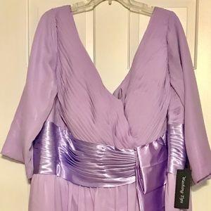Plus Size Lavender Bridesmaid Dress Boutique